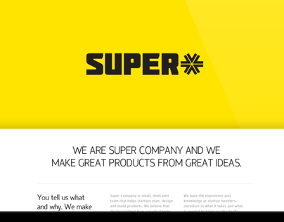 SUPER Company Website