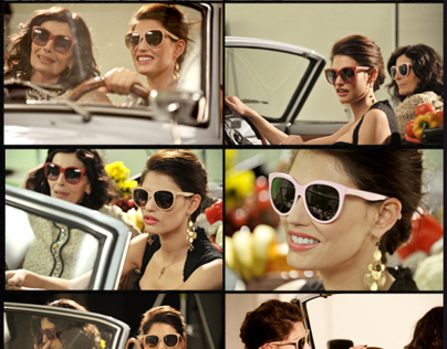 Matt Silk Collection for DOLCE&GABBANA SS12 sunglasses