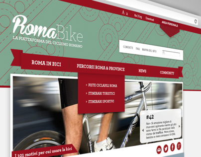 Concept Roma Bike UI