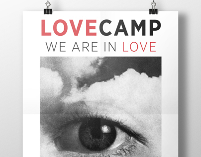 Lovecamp Dance Party Poster