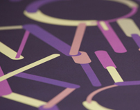 Color Lines — Free Font
