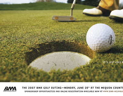 BMA Golf Outing Posters