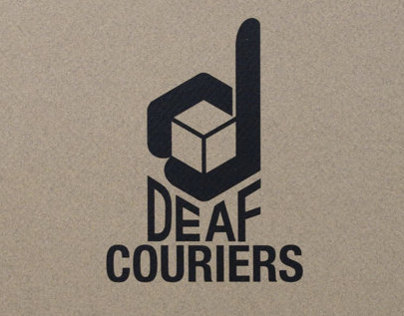 Deaf Couriers Branding
