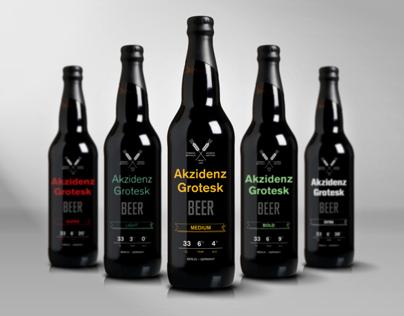 Akzidenz-Grotesk Beer
