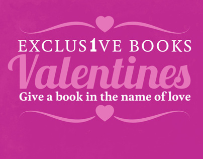 Exclusive Books: Valentines 2013