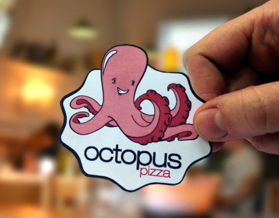 Branding | Octopus Pizza