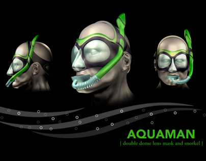 AQUAMAN snorkel set