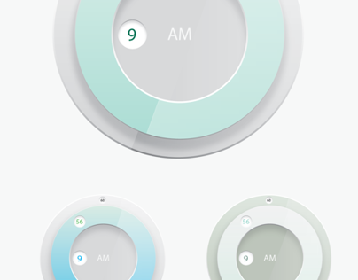 UI Clock Design