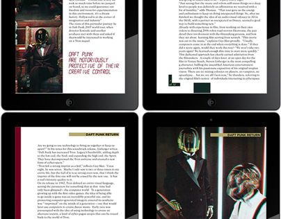 Digital Publication Spread