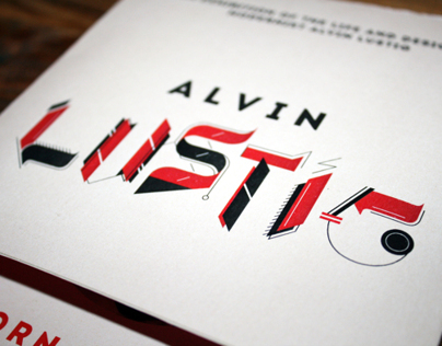 ALVIN LUSTIG // Typographic workshop (invitation)