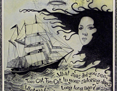 Dylan Thomas 'Under Milkwood' Illustration