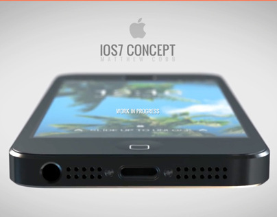 IOS7 Concept - Work In Progress