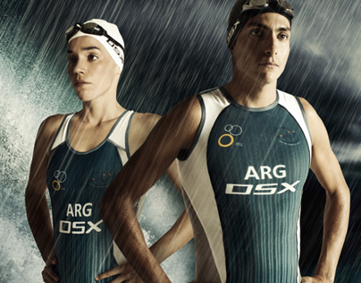 OSX Olympics 2012 - Art Direction & High-End Retouching