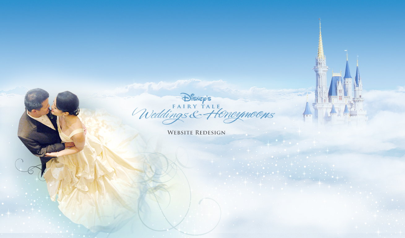 Weddings website redesign