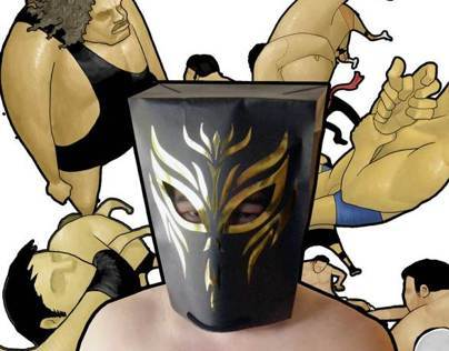 Wrestling Mask Bag