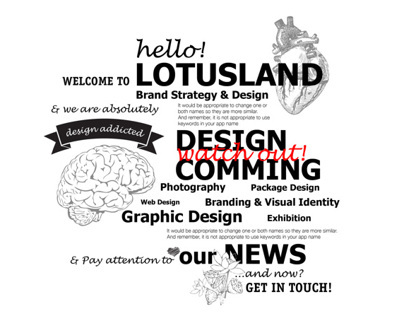 LOTUSLAND web!