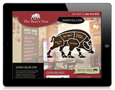 The Boar's Nest Website