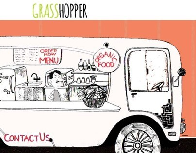 Grasshopper Restaurant-Website