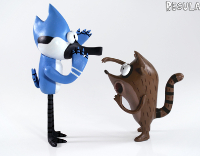 Regular Show - Custom Toys