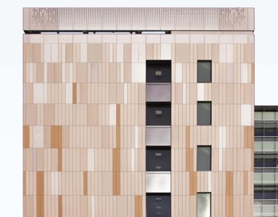 Facade for Energy Biosciences Building Berkley | US