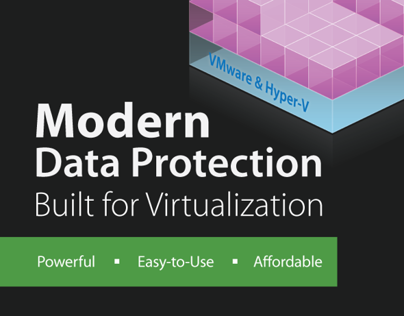 Veeam is Modern Data Protection