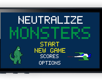 Neutralize Monsters iPhone Game