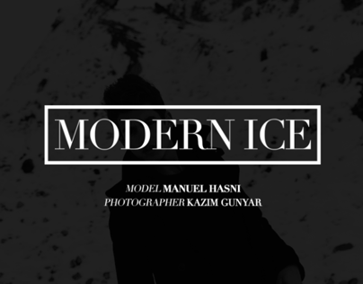 Modern Ice by KAZIM GUNYAR