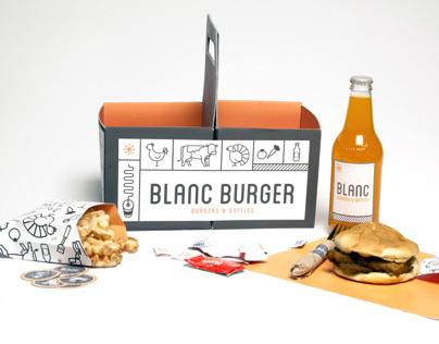 Blanc Burger Redesign Concept
