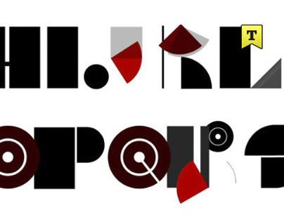 Alphabet in motion - Barcenova type