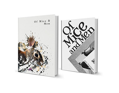 Book jacket: Of Mice and Men