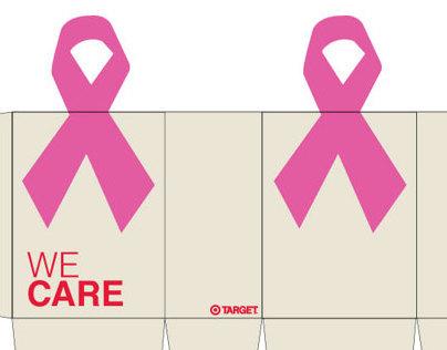 Target Cancer Awareness Bags