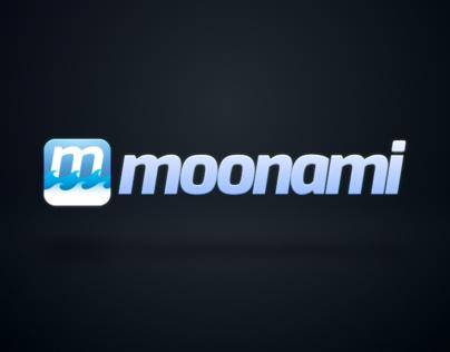 Logo Animation : MoonAmi