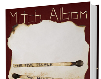 Bookjacket Redesign: The Five People You Meet In Heaven