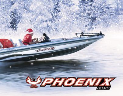 Phoenix Boats Holiday Card