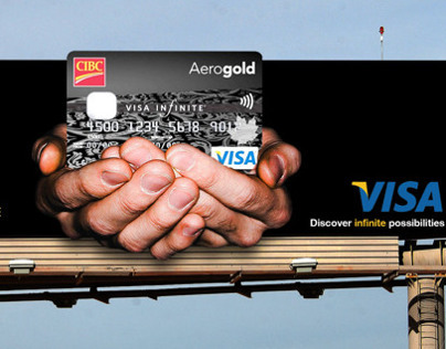 Visa Innovative Out-of-Home Billboards
