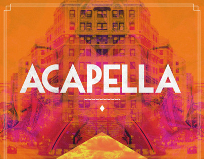 Acapella | Flyers, Facebook & Stage Backdrop