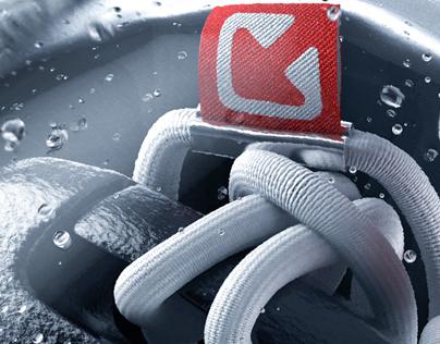 3D Waterproof Key Case - Advertising Imagery