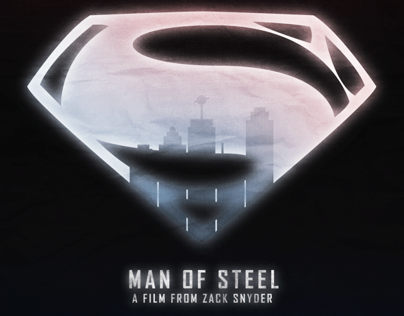 Minimalist Poster - Man Of Steel