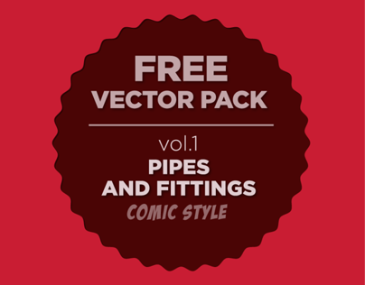Free Vector Pack: Pipes and Fittings