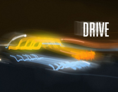 Drive main title sequence