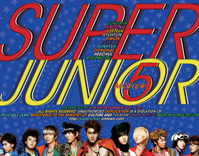 SuperJunior - Mr. Simple event