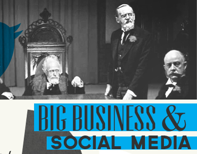 Infographic: Big Business & Social Media