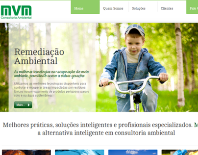 MVM Consultoria Ambiental Website