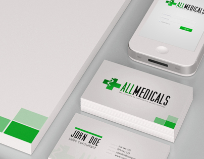 All Medicals: Branding & visual identity