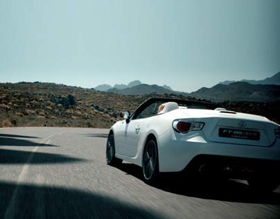 Toyota FT-86 open Shadow Dodging