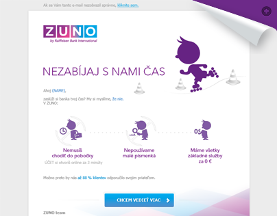 ZUNO BANK / Newsletter v1