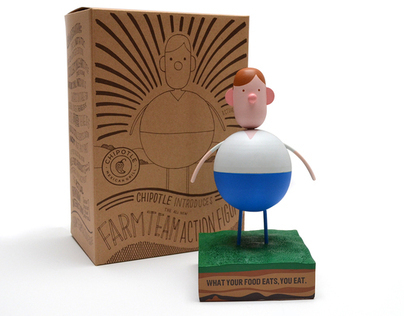 Chipotle FARM TEAM collectible figure