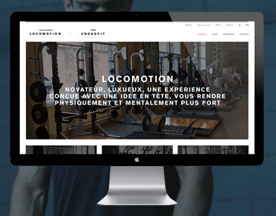 Studio Locomotion - Website