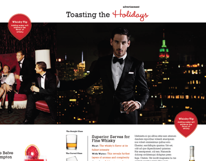 Moet Hennessy USA Magazine Spread Pitch