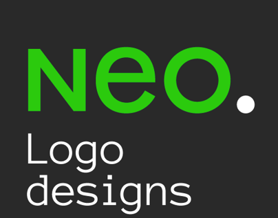 NEOs 10 years of logo design